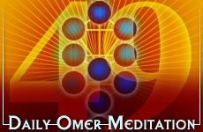 Aish Daily Omer Meditation